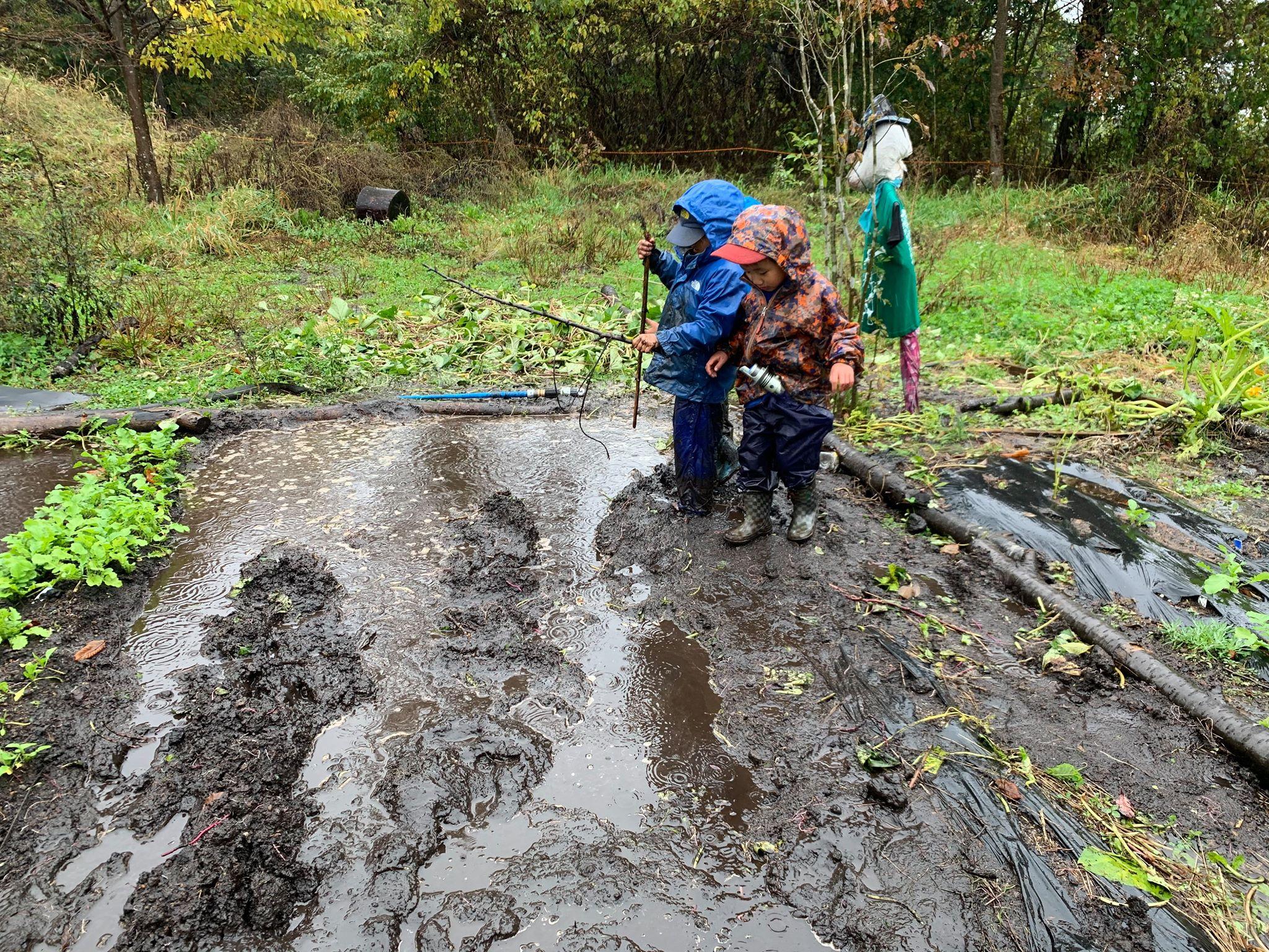 かぜあそびレポート(6) -雨の日ってどう過ごす?ある雨の降った10月-